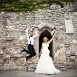 Esküvői fotó - Budapest - Gótikus kert - Bell Studio