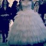 Fodros esküvői ruha - Exclusive szalon - Tata