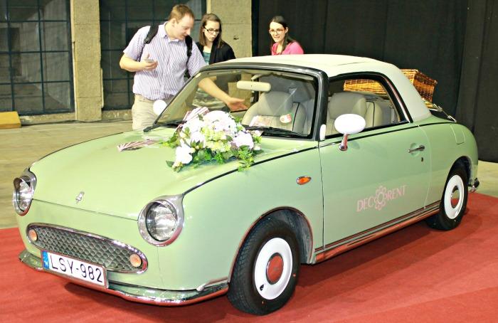 Esküvő kiállítás 2015 bérelhető autó