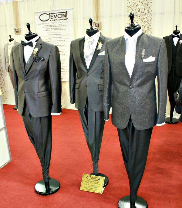 Esküvő kiállítás 2015 férfi divat