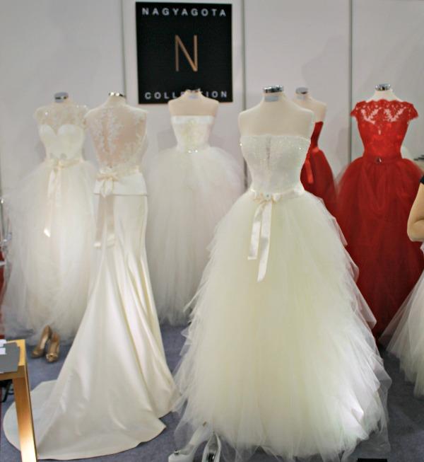 Esküvő kiállítás 2015 Nagy Ágota kollekció