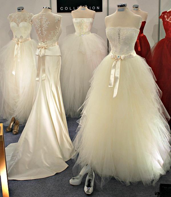 Különleges esküvői ruhák Nagy Ágota kollekció