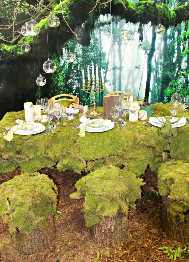 Zöld esküvő dekoráció 2015