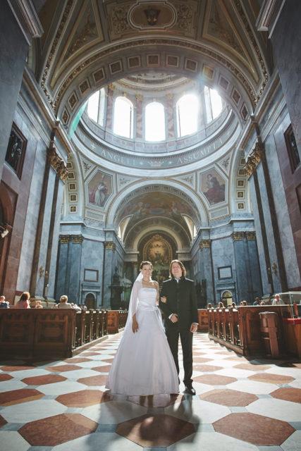 esküvői fotós - bazilika