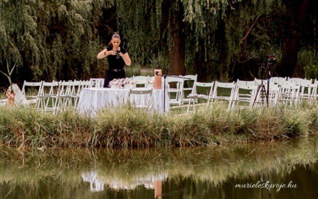 Mi történik az esküvői fotózás előtt