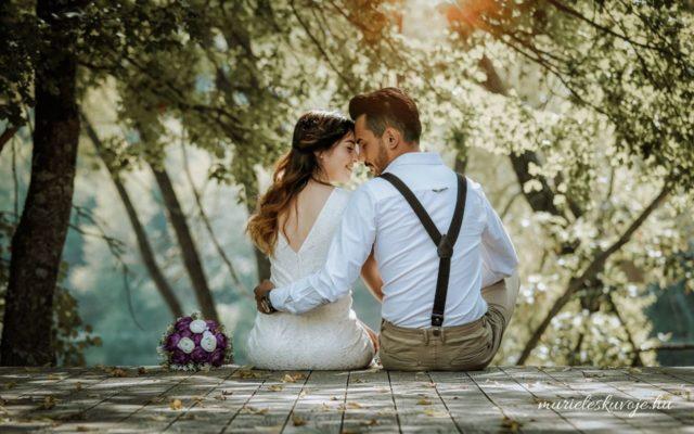 Nyári esküvő előnyei - remek fotók