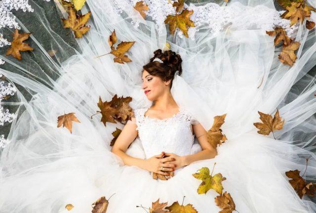 Őszi esküvő dekor