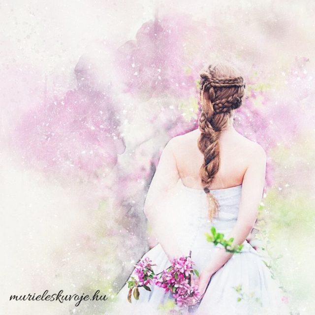 Rajzolt menyasszony